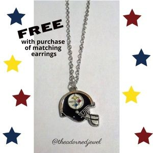 🖤🏈Pittsburgh Steelers Fashion Jewelry Necklace🏈